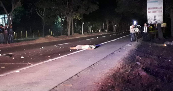 Joven motociclista muere tras sufrir un accidente en carretera de Santa Ana
