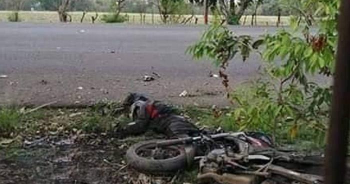 Muere agente de la PNC tras accidentarse en carretera a Santa Ana