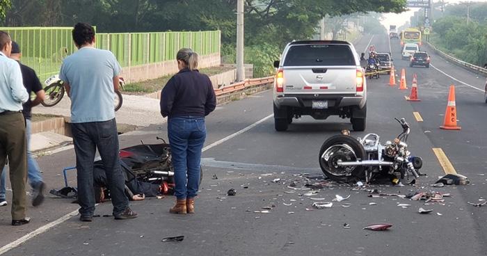 Motociclista pierde la vida tras accidente de transito en la Carretera Troncal del Norte