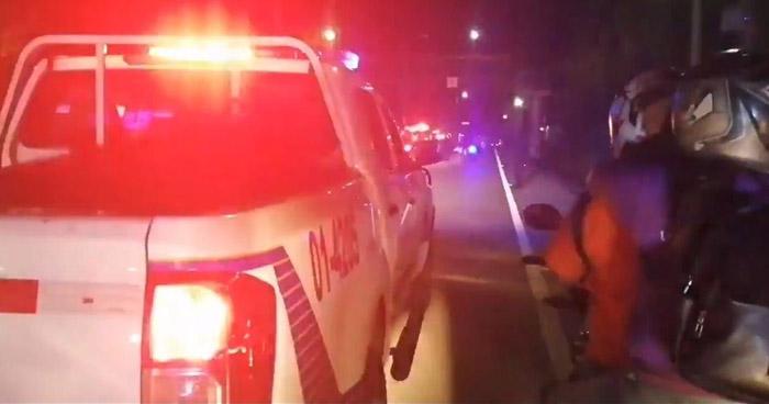 Motociclista atropella y mata a un peatón en carretera Troncal del Norte