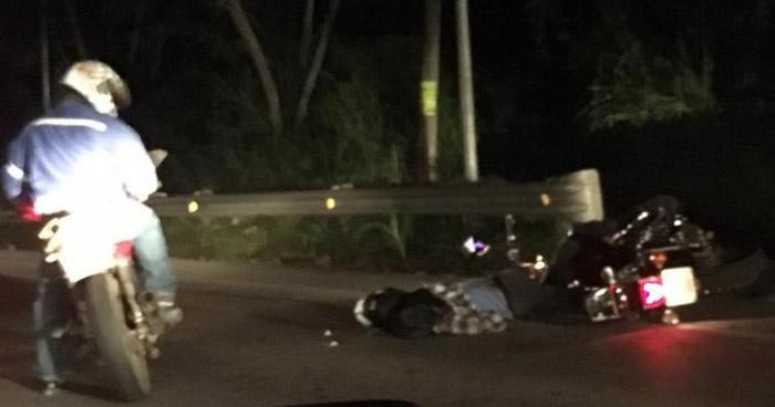 Motociclista muere al ser arrollada por un furgón en carretera Los Chorros