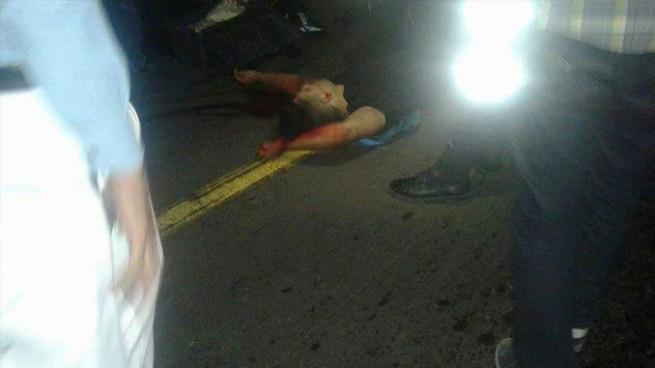 Hombre muere tras ser atropellado por un vehículo en el Bulevar Constitución
