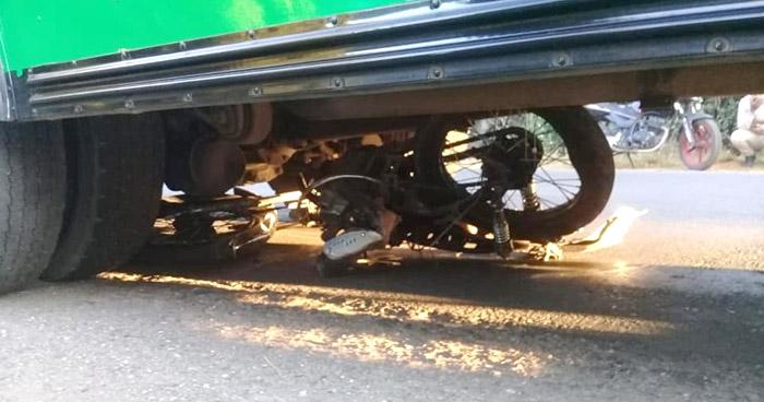 Motociclista muerto tras ser arrollado por motorista de Ruta 236 en Santa Ana