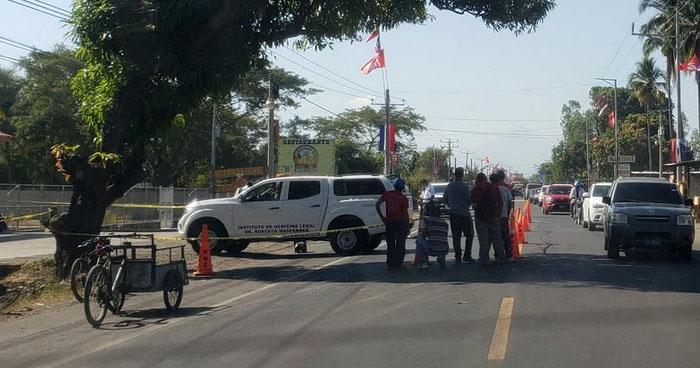 Motociclista fallece tras ser embestido por un vehículo en carretera Troncal del Norte