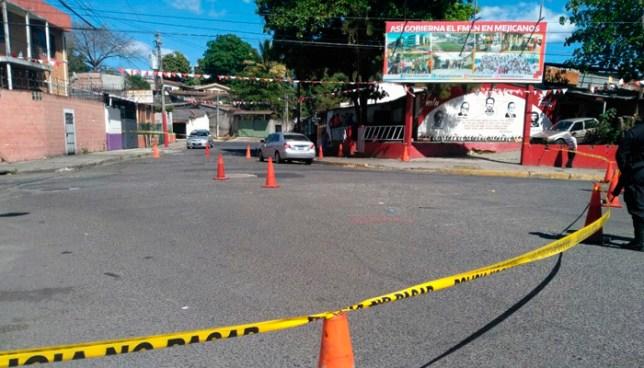 Pandilleros lesionan a motorista de la ANSP y empleado administrativo de la PNC en el centro de Mejicanos