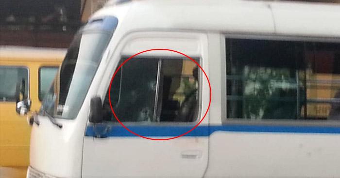 Motorista de la ruta 33B lesionado tras ataque armado en calle Al Volcán, Mejicanos