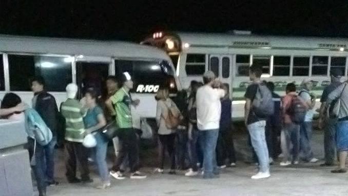 Conductor de la ruta 202 evita que coaster se accidentara por perder los frenos en carretera Los Chorros