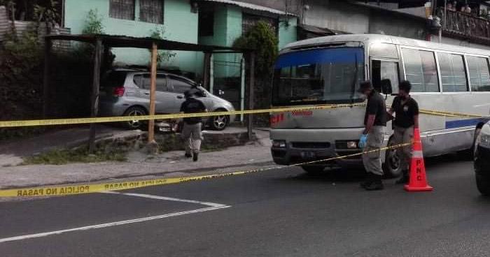 Asesinan a motorista de la Ruta 11 en carretera antigua a Zacatecoluca