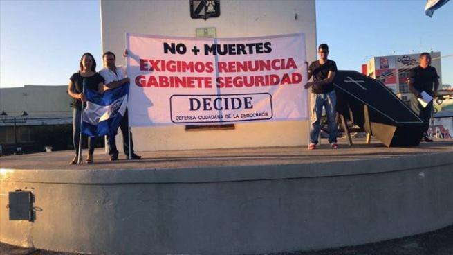 Movimiento ciudadano exige la renuncia del gabinete de Seguridad