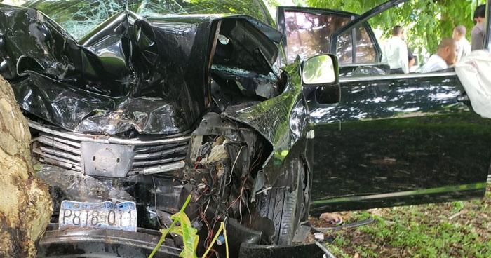 Dos mujeres fallecidas en grave accidente de tránsito en carretera a Santa Ana