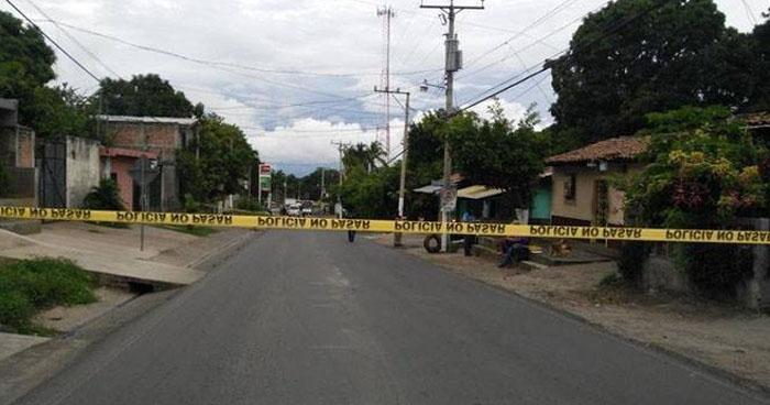 Pandilleros asesinaron a una mujer en colonia Primavera de San Vicente