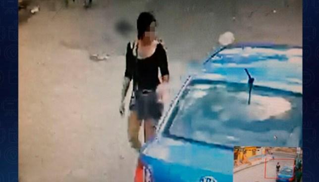 Así fue como se robaron carro que usaron como 'coche bomba' en la carretera al Puerto