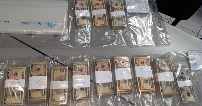 Incautan más de $66 Mil a Munguía Payés, dinero proveniente de actividades ilícitas