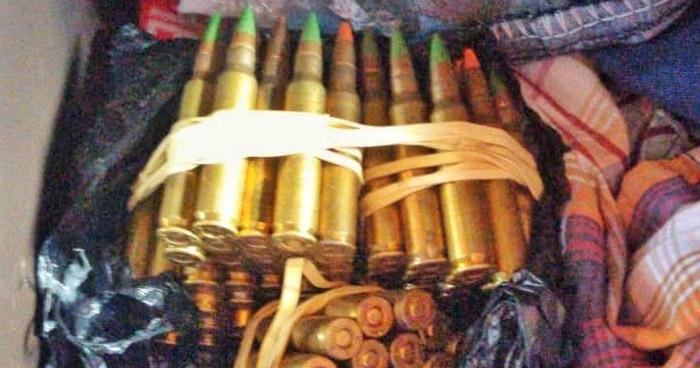 Incautan abundante munición para armas de guerra a pandillero en Soyapango