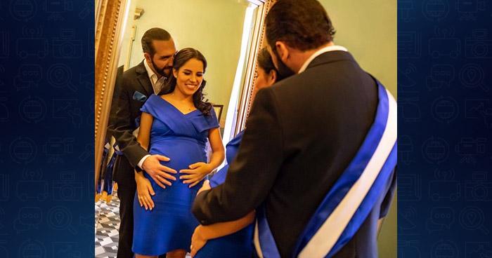 Nace hija del presidente Nayib Bukele en el Hospital Militar