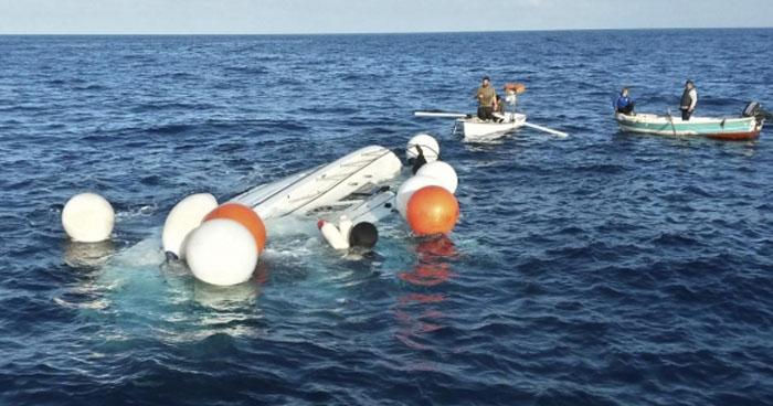 Niños migrantes mueren tras naufragio de un barco en el mar Mediterráneo