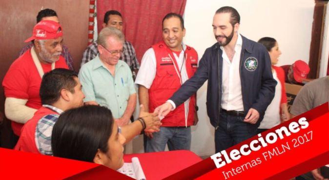 Nayib Bukele obtiene el respaldo del 97.48% para ser único candidato para la Alcaldía de San Salvador