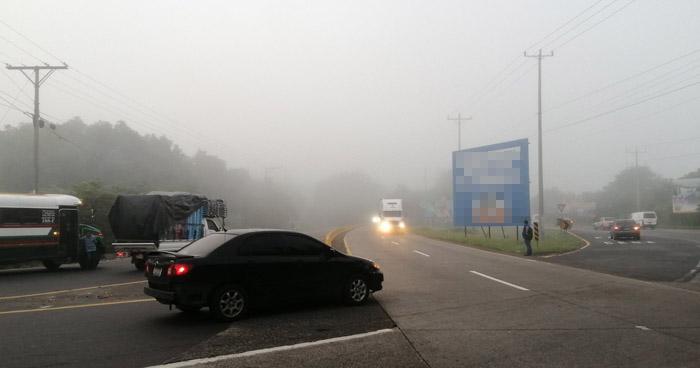 Probabilidad de lluvias leves con énfasis en la zona centro y accidente del país