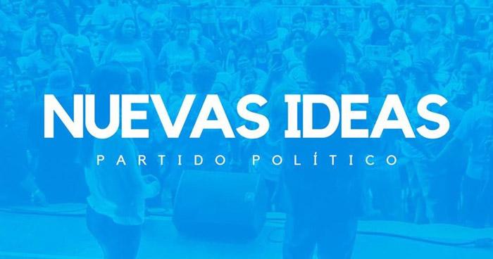 Nuevas Ideas ya es partido político