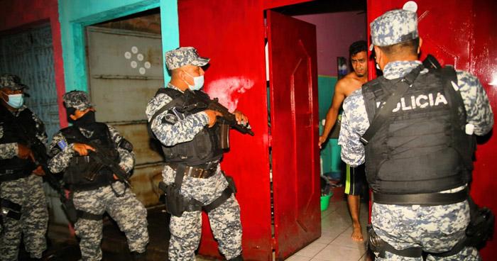 """Líderes de pandillas entre capturados durante operativo """"Relámpago"""""""