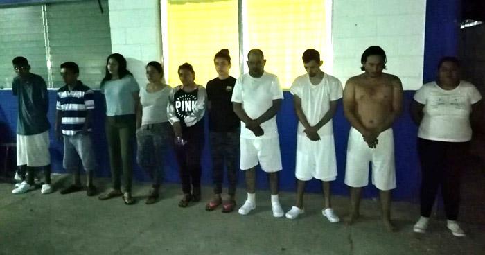 Seis pandilleros capturados por homicidio en zona norte de San Salvador