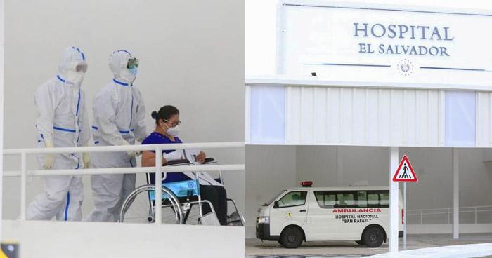 Trasladan a los primeros pacientes con COVID-19 al nuevo Hospital El Salvador