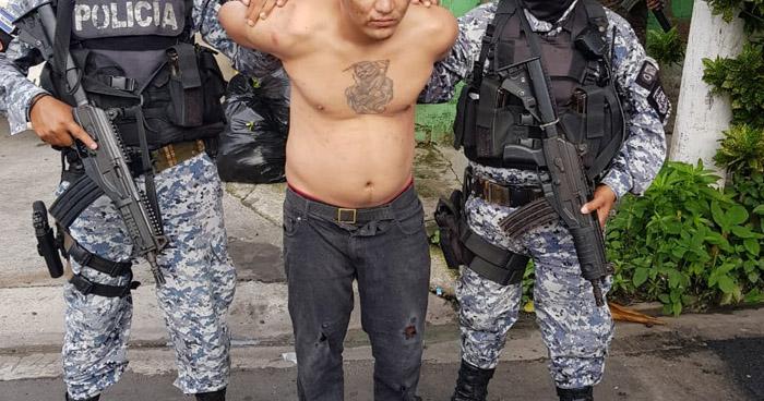 Palabrero de la Colonia Dina de San Salvador fue capturado a pesar que intentó huir