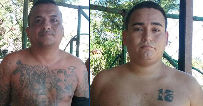 Dos palabreros de una pandilla fueron capturados en Soyapango