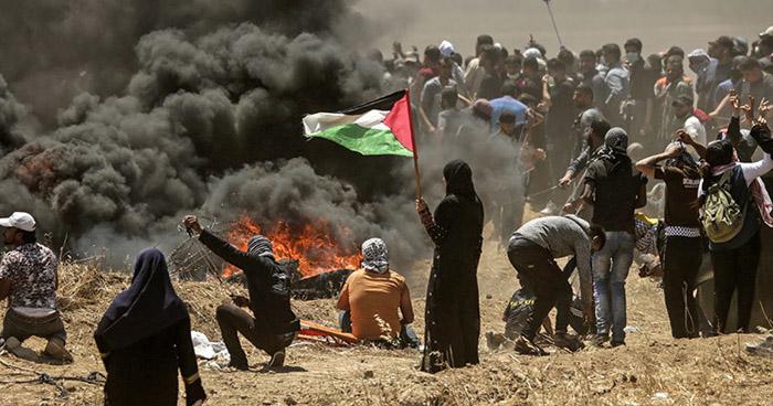 Al menos un muerto durante las protestas en la frontera entre Gaza e Israel