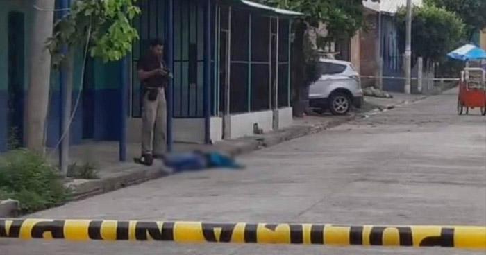 Asesinan a un panadero en Cara Sucia, Ahuachapán