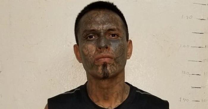 Peligroso pandillero fue arrestado durante un operativo en Sonsonate