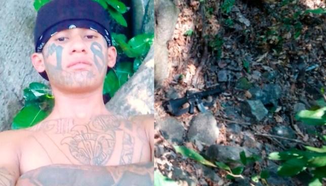 """Muere el """"Danger"""" tras atacar a balazos a la PNC en Chalchuapa, Santa Ana"""