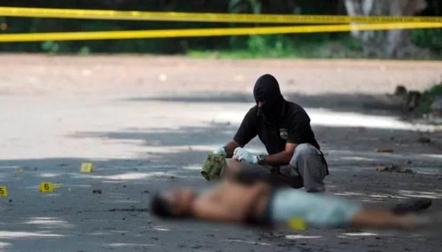 Pandillero asesina a balazos a un rival, en el limite de territorios en Santa Cruz Analquito, Cuscatlán