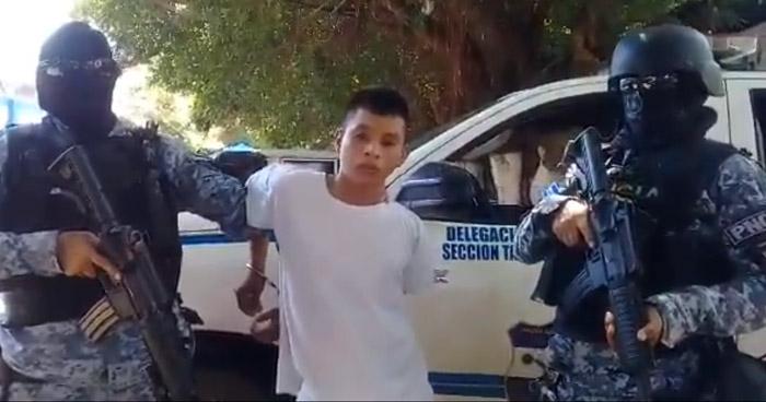 Capturan en Sonsonate a joven pandillero que asesinó a un Policía Rural