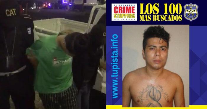 Pandillero de los 100 Más Buscados fue capturado en un Bar de Guatemala