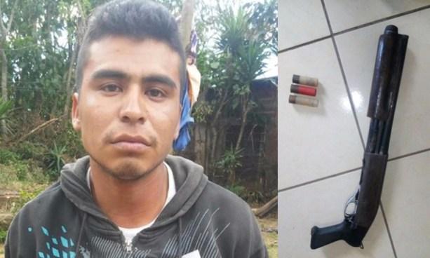 Capturan a palabrero de pandillas en Sonsonate y le incautan un arma de fuego