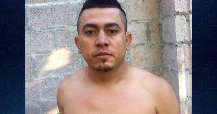 Capturan a pandillero buscado por asesinato de un policía en Cabañas
