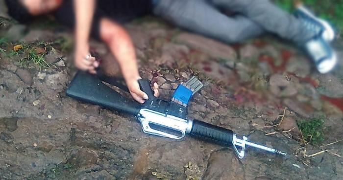 Muere pandillero tras atacar a balazos a la PNC en Ilobasco