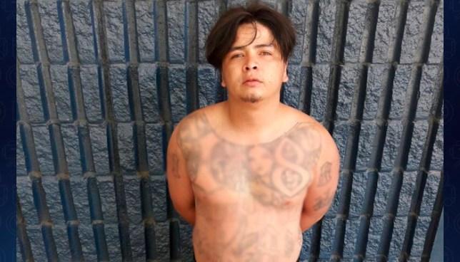 Capturan en residencial de Ilopango, a reconocido pandillero mientras distribuía droga
