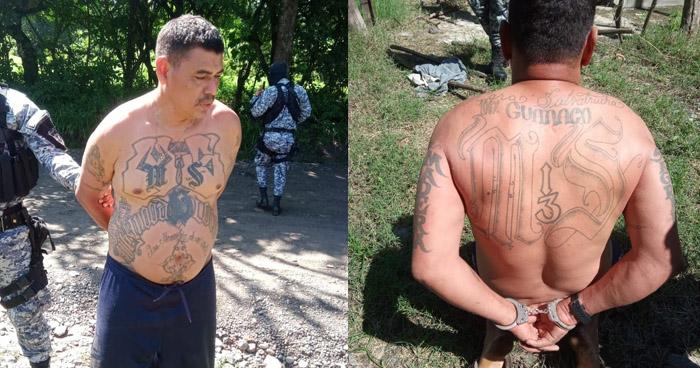 Capturan a peligroso miembro de la MS que operaba en Chalatenango
