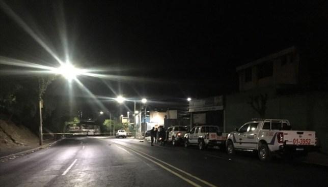 Un pandillero muerto tras intercambio de disparos con agentes de la PNC en Bulevar Venezuela, San Salvador
