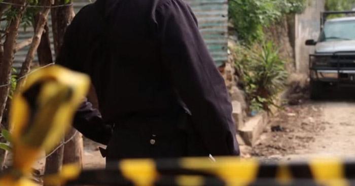 Pandillero muerto en un intercambio de disparos con soldados en Cabañas