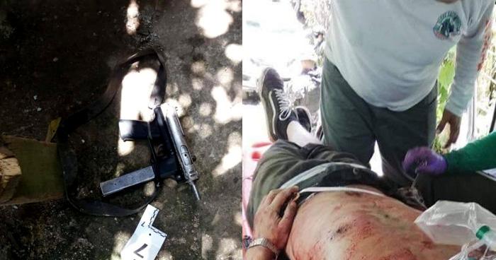 Muere pandillero que resulto lesionado tras enfrentamiento con la PNC el Domingo