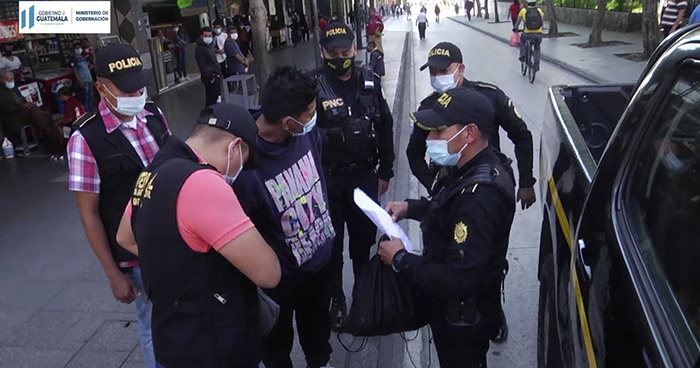 Capturan a pandillero salvadoreño en Guatemala que era buscado por Homicidio