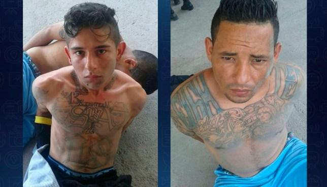Capturan a dos pandilleros armados que atemorizaban a habitantes de Soyapango