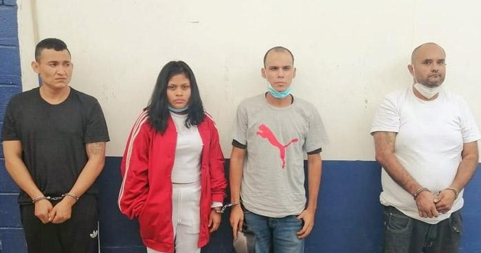 Capturan a pandilleros cuando distribuían droga en Mejicanos