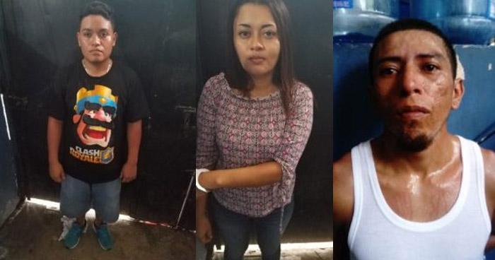 Pandillero y su esposa entre los capturados por delinquir en Acajutla, Sonsonate