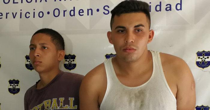 Dos pandilleros fueron capturados tras un enfrentamiento con policías en San Miguel