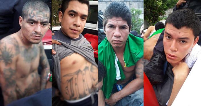 Capturan a cabecilla y peligrosos pandilleros de la MS que operaban en Soyapango