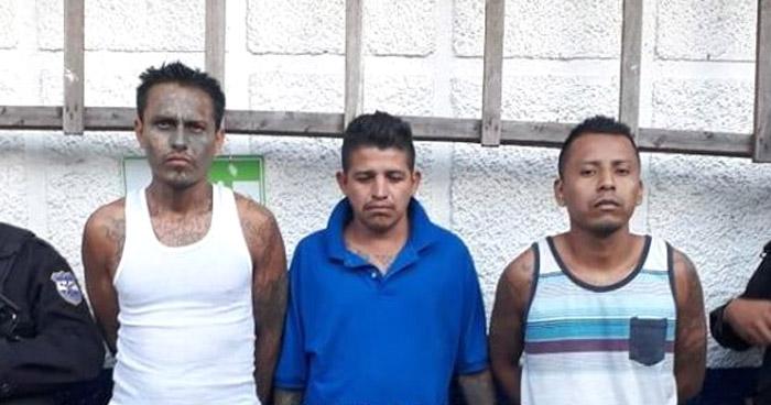 Capturan a pandilleros que delinquían en Sonsonate